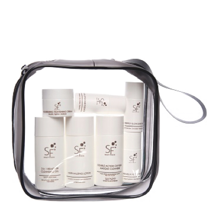 Anti-Sensitive Calming Travel Kit (7 products radiance)